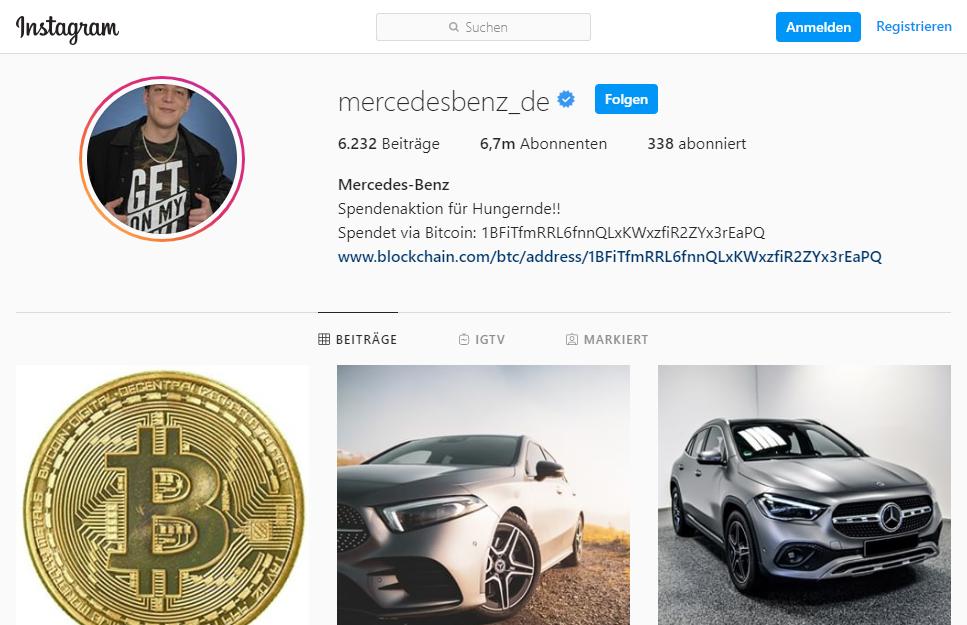Mercedes De Instagram